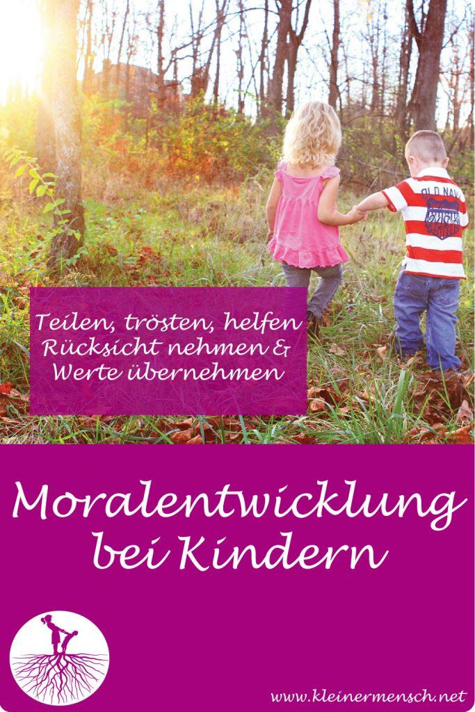 Moral Entwicklung Kind trösten helfen Rücksicht nehmen Empathie
