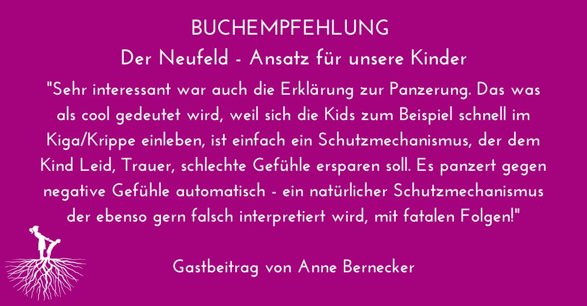 Buchempfehlung: Der Neufeld-Ansatz für unsere Kinder von Dagmar Neubronner