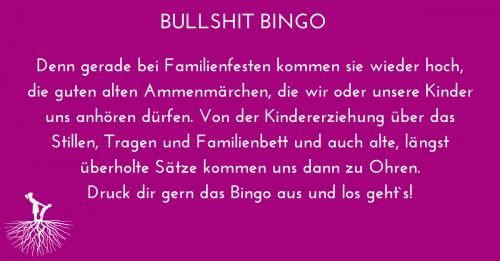 Bullshit Bingo – 16 entbehrliche Sprüche in der Erziehung