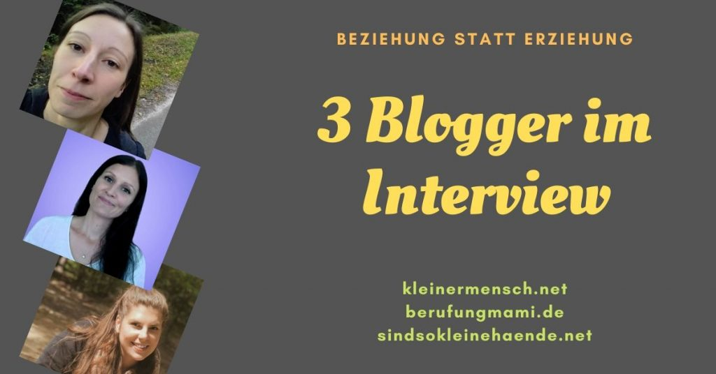 Interview 3 Blogger