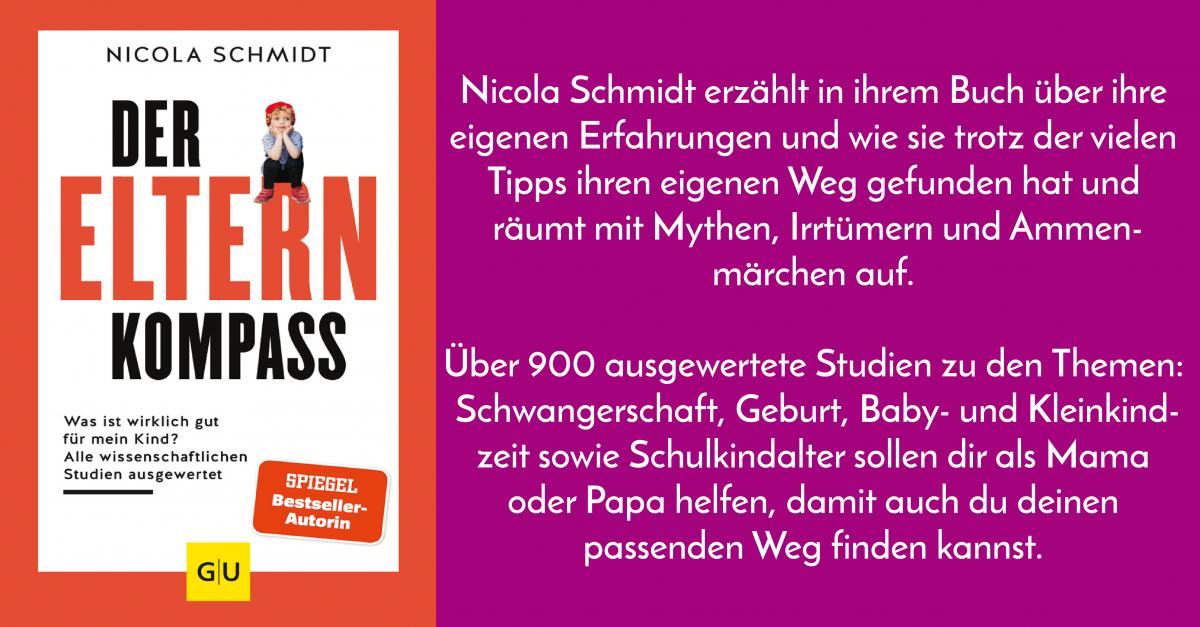 Buchrenzension: Der Elternkompass – von Nicola Schmidt