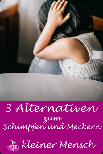 3 Alternativen zum Schimpfen und laut werden