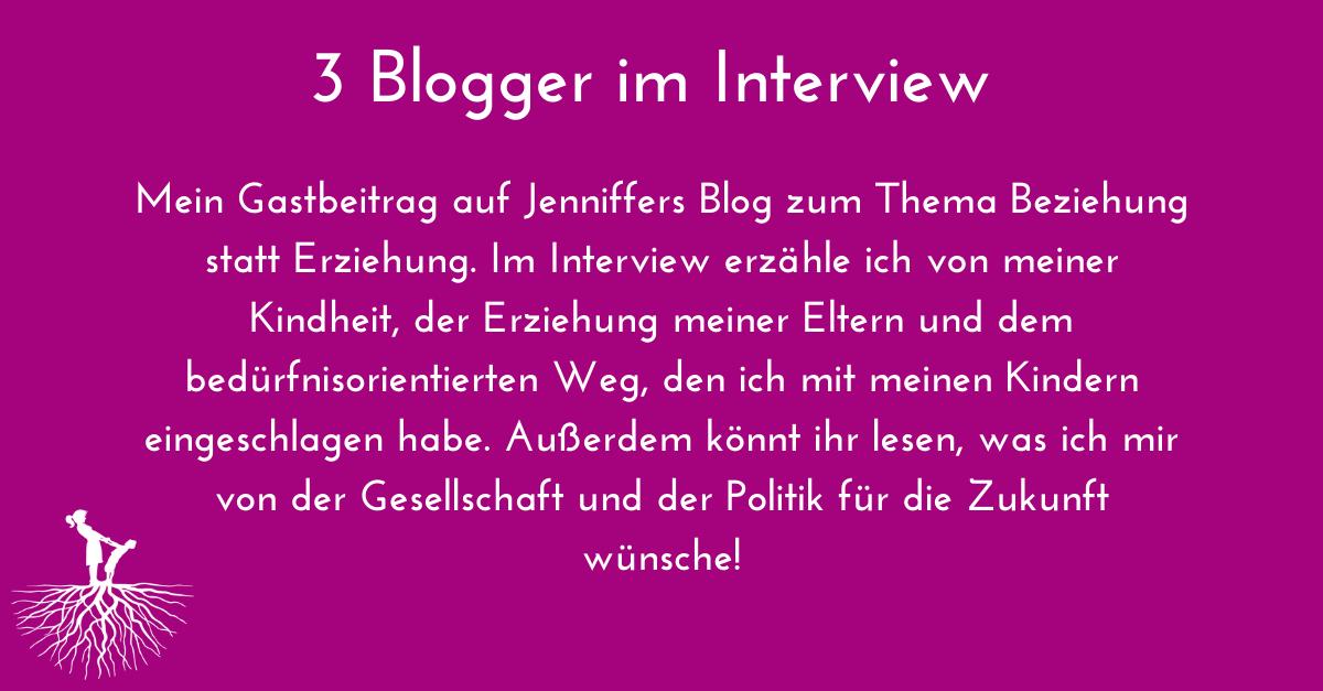 3 Blogger im Interview