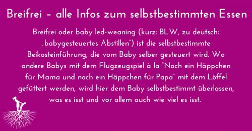 Infos zu breifrei BLW