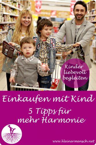 Einkaufen mit Kind Konflikte Tipps