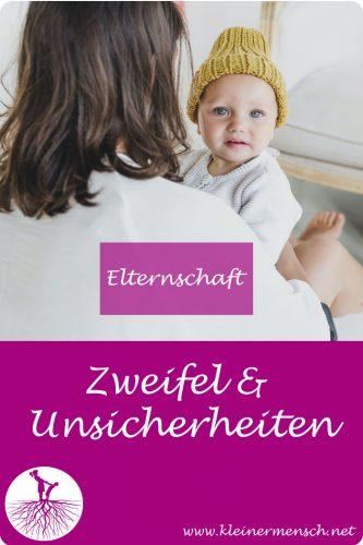 Unsicherheiten und Zweifel in der Elternschaft Kinder